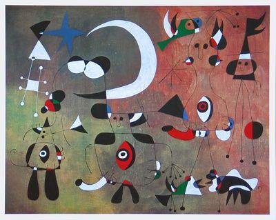 Joan miró ravissantes toiles et affiches pour décoration intérieure et idées déco