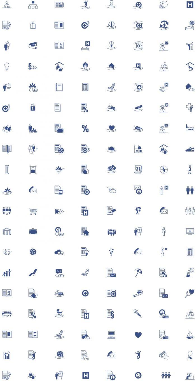 CSS Versicherungen Piktogrammsprache
