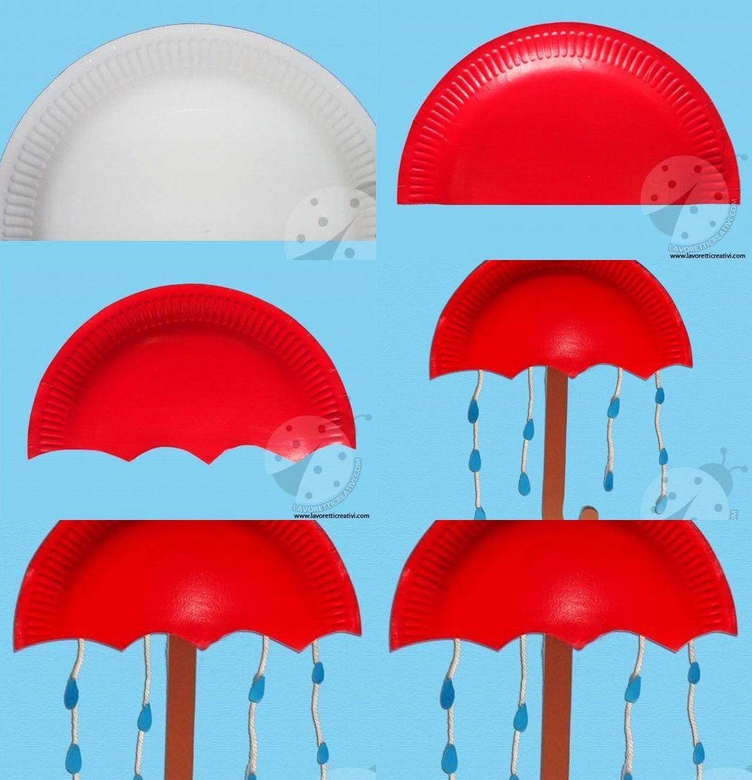 Related Posts Umbrella Crafts For Preschoolpaper Plate