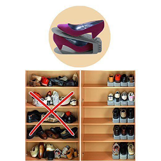 Wenko Schuhstaplerset 8er Set Amazonde Küche Haushalt   Küche Ikea Planer