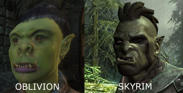 What even was the first one based off of?!? | Skyrim