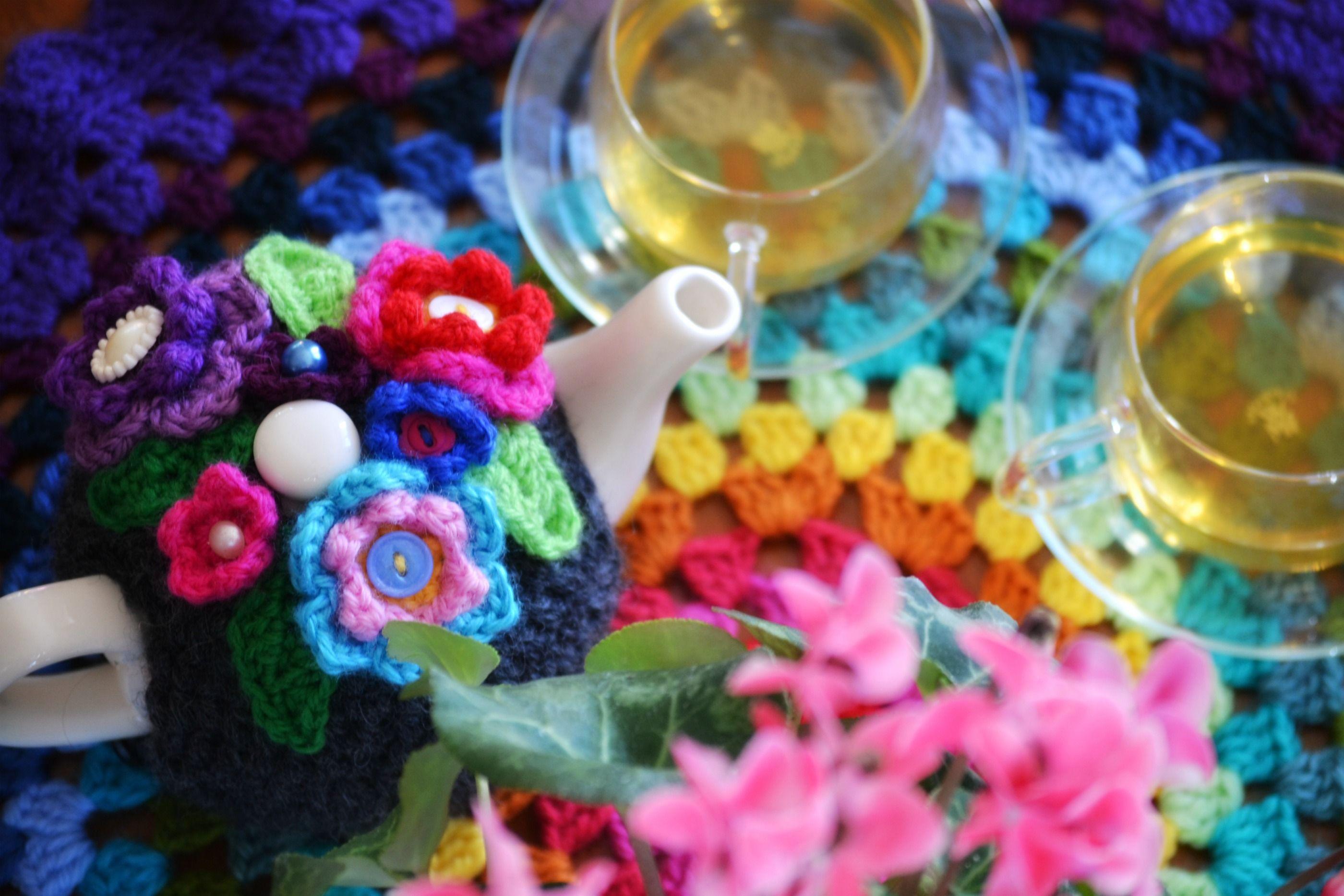 Crochet tea cosy 4