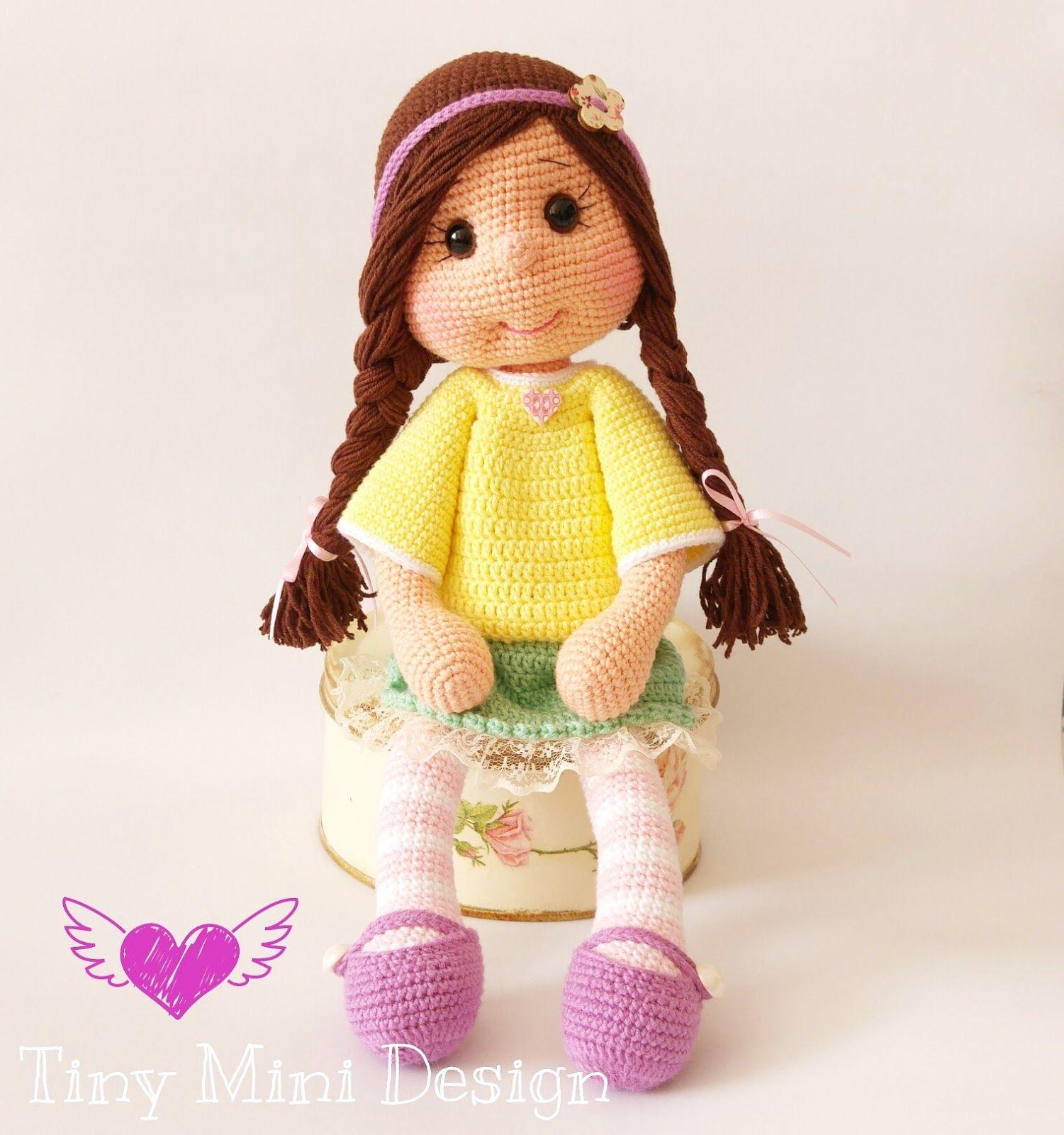Amigurumi Bebek Tarifi : Amigurumi �rg� oyuncak bebek