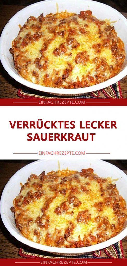 Verrücktes lecker Sauerkraut