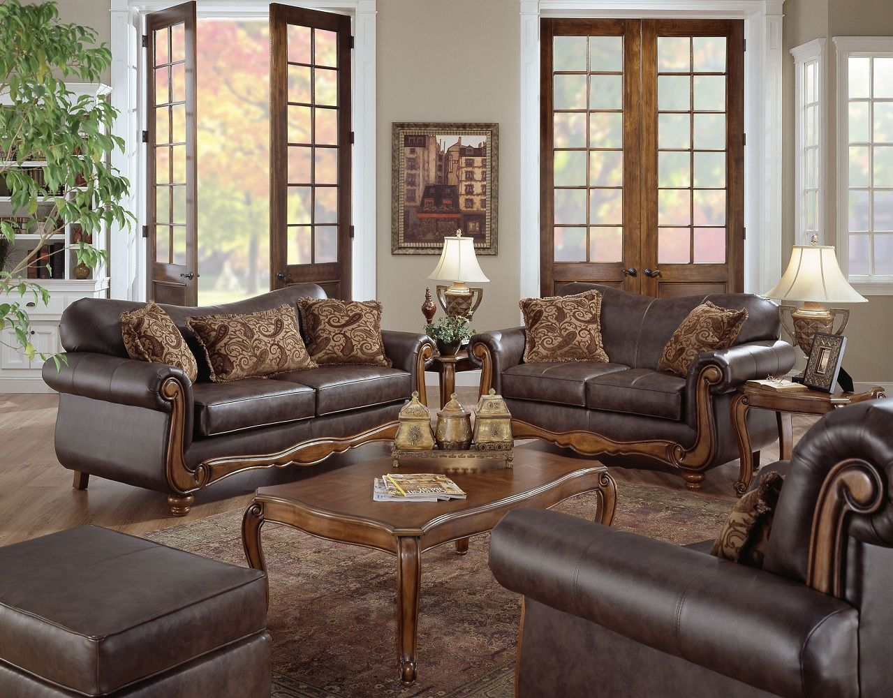 Leather Living Room Sets Clearance | Baci Living Room