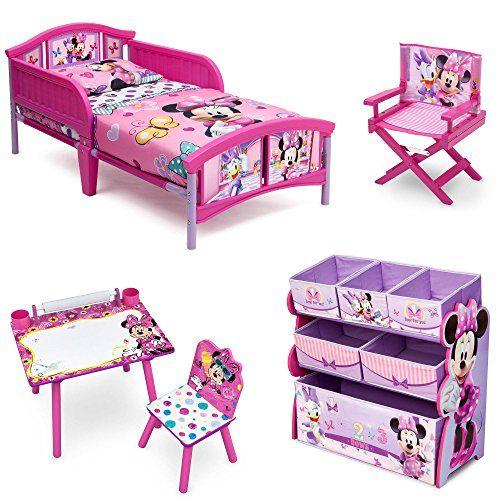 Disney Delta Children Enterprise Minnie Mouse 5 Piece Furniture