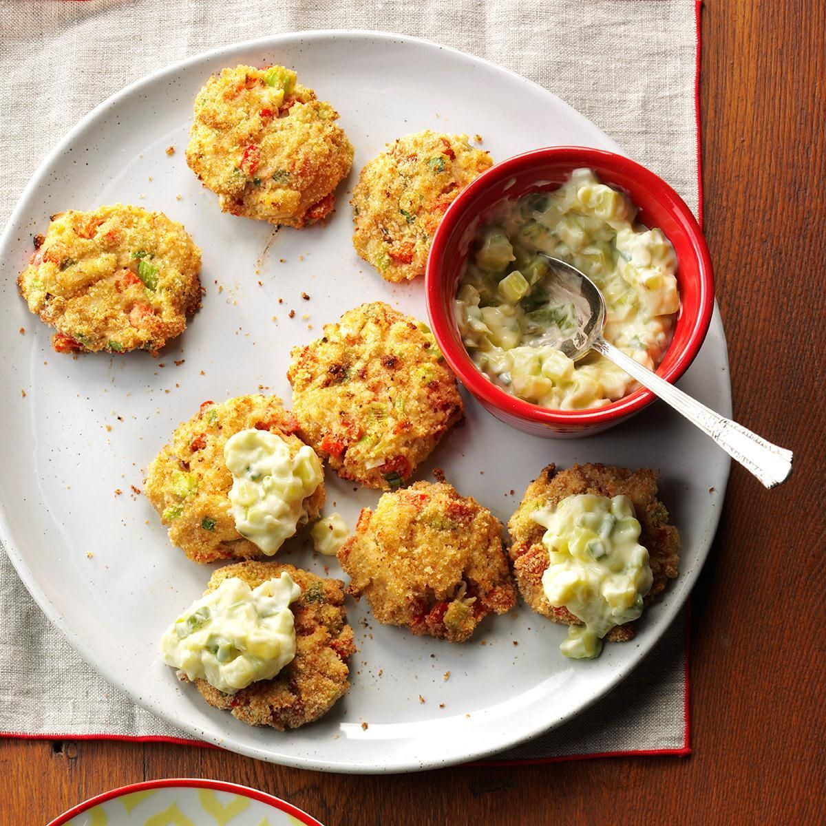 Airfryer wasabi crab cakes recipe in 2020 crab cakes
