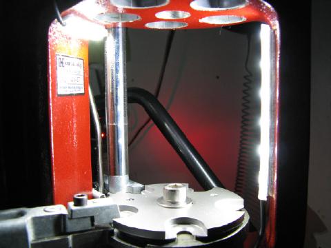 InLine Fabrication Skylight Reloading press LED light system Hornady LNL AP