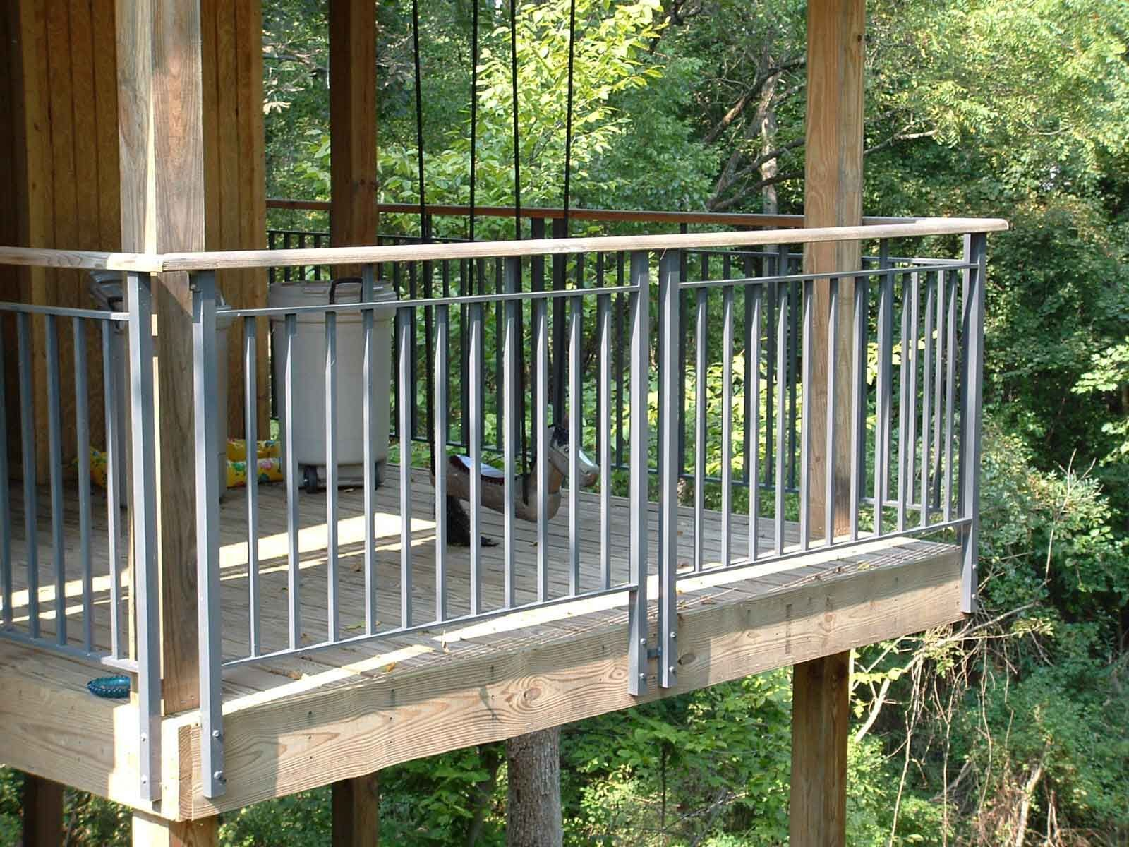 Prefab Metal Deck Railing • Decks Ideas | Deck railing in