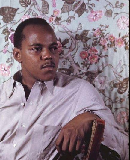 Owen Dodson, writer and poet. Carl Van Vechten's Color Photographs of African Americans, 1939-1964.