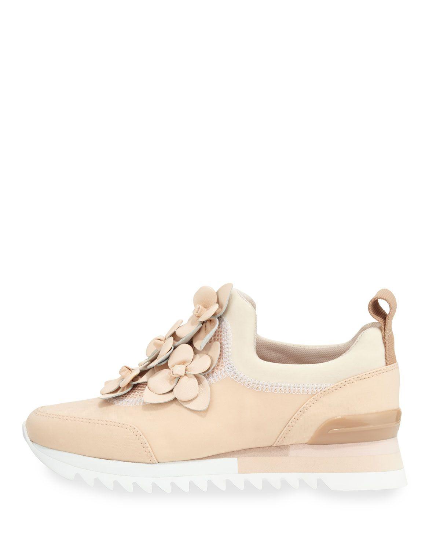 9a9f0464e9ba Tory Burch Blossom Neoprene Sneaker