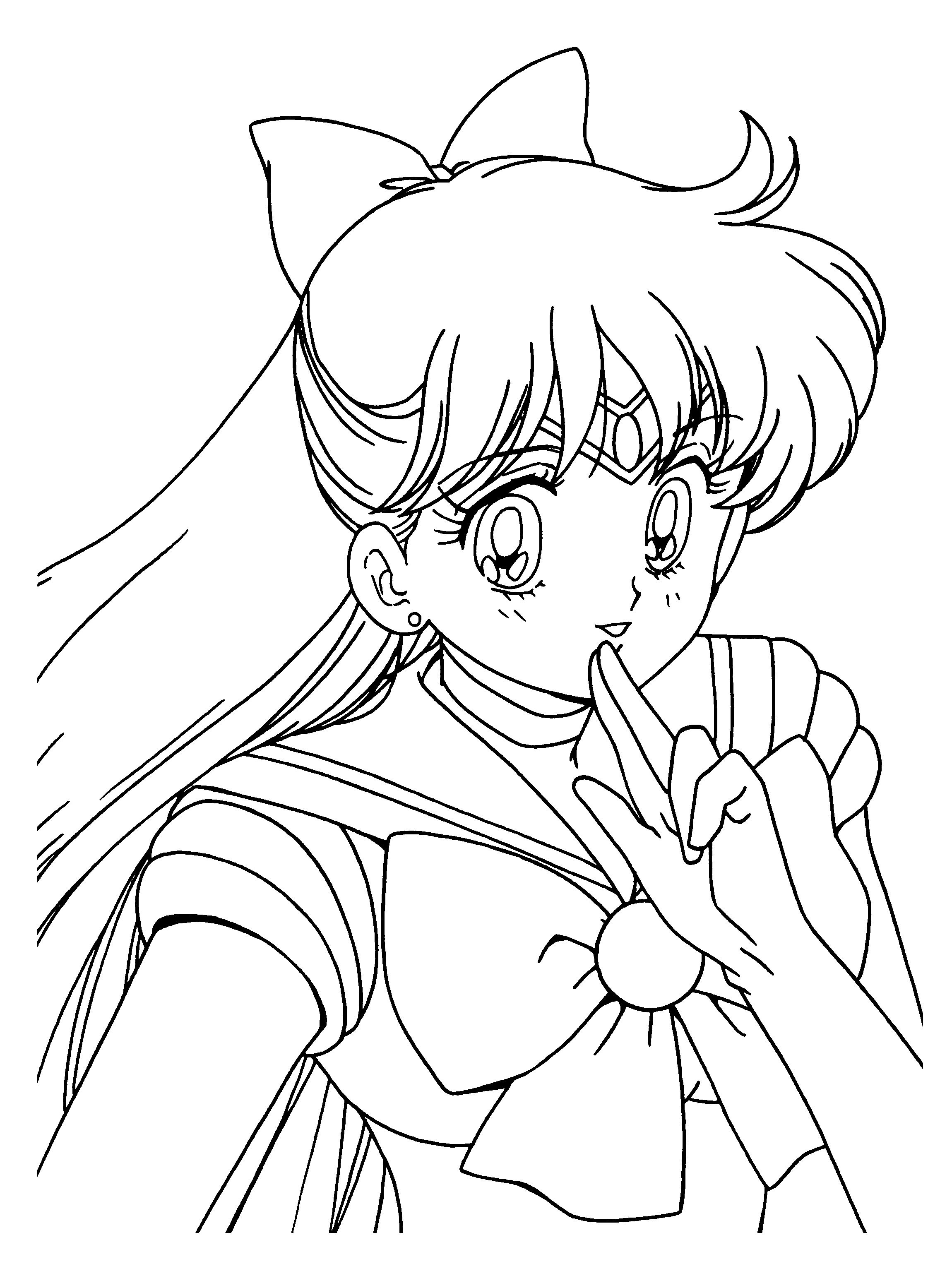 Sailor Moon And Tuxedo Mask Coloring Pages - Pictnu.co | Pictnu.co ...