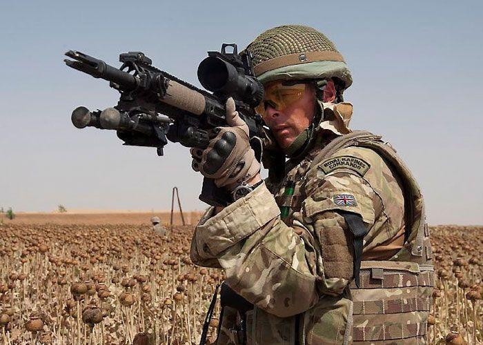 Lmt L129a1s Help Protect 2012 Olympics Royal Marine Commando