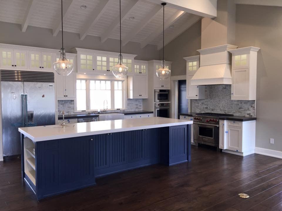 view into kitchen hale navy island with images kitchen design kitchen remodel craftsman on farmhouse kitchen navy island id=85393