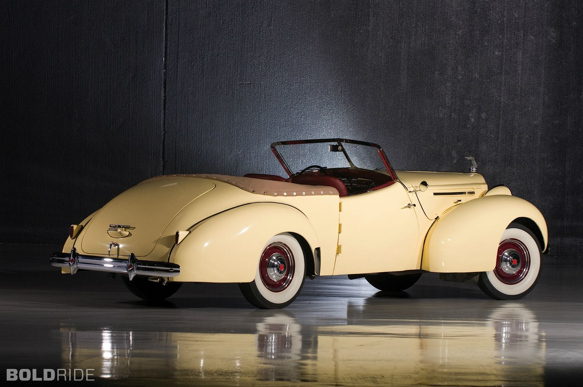1939 Packard 120 Victoria Convertible | The Garage of