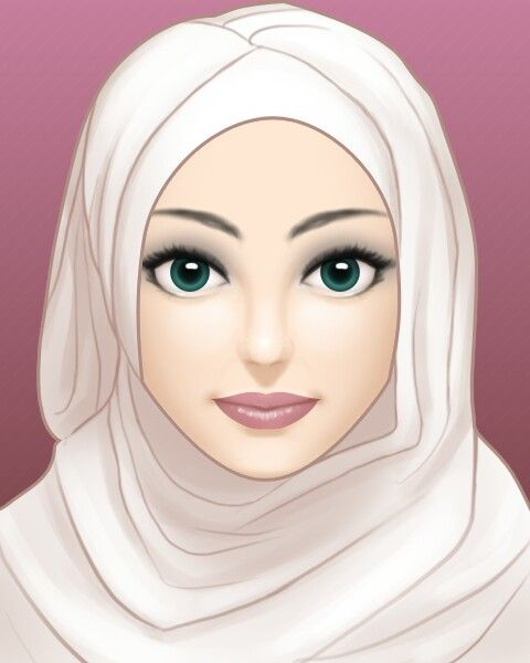 Pin Oleh Tazkia Khan Di Hijabs Kartun Hijab Seni Islamis Gambar