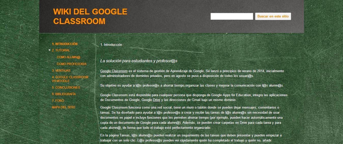 Educación e Ingeniería: Google Classroom en el Aula