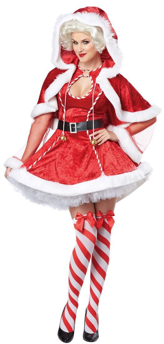 Womens Festive Mrs. Claus Costume | Costume Craze - Womens Festive Mrs. Claus Costume Costume Craze Fashion
