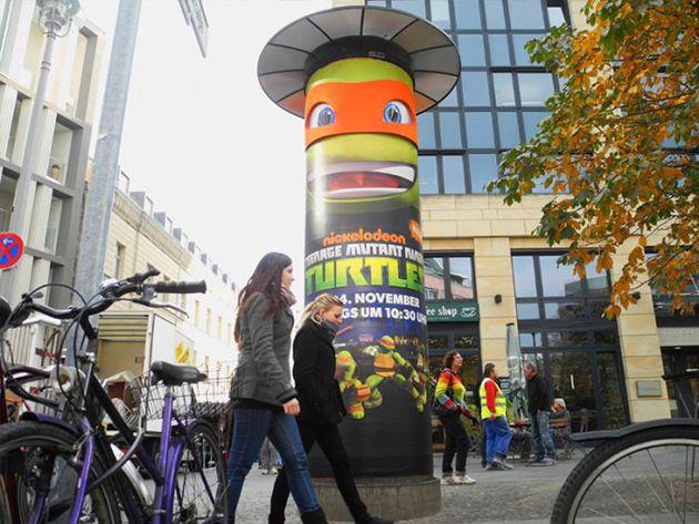 Die Turtles Erobern Die Warschauer Strasse In Berlin Guerilla