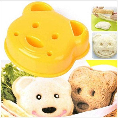 Practical Cute Little Bear Shape Sandwich Bread Cake Mold Maker Diy Mold Cutter Craft Kitchen Tools Wall Sticker http://www.amazon.ca/dp/B00NEL79MY/ref=cm_sw_r_pi_dp_TPmfvb0EC8M80