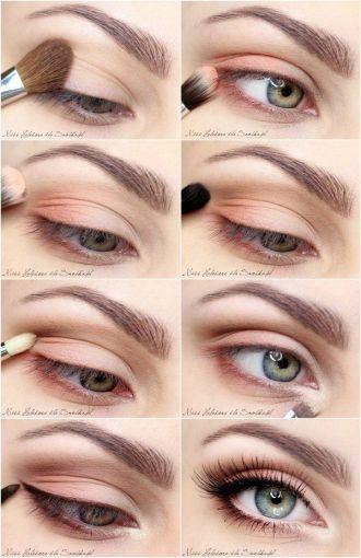 Tutorial Look Natural Para El Día Maquillaje Ojos Caidos Maquillaje De Ojos Día Sombras De Ojos