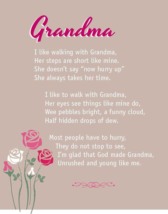 grandma in heaven poem Grandma In Heaven Quotes