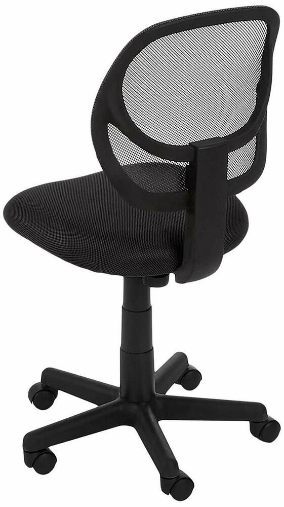 Low Back Task Chair Without Arms Computer Desk Office Executive W