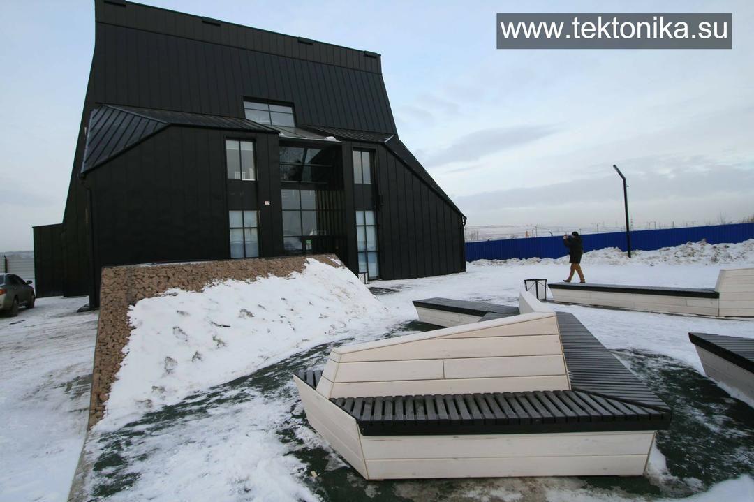 http://myskyfly.ru/ днем. Первый в России аэродинамический тренажер в формате развлекательного комплекса #tektonika #тектоника #architecture #архитекторЗыков