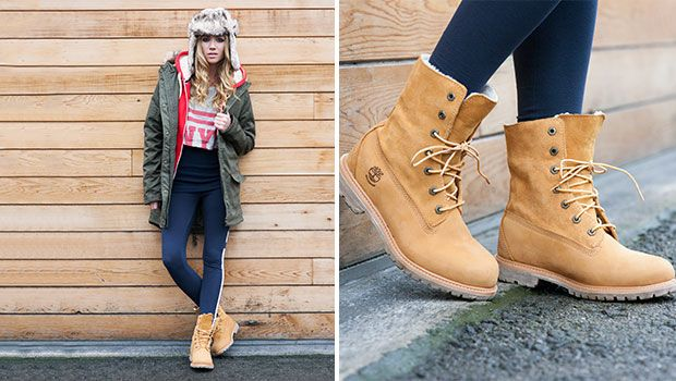 Timberland Ladies Wedge Boots