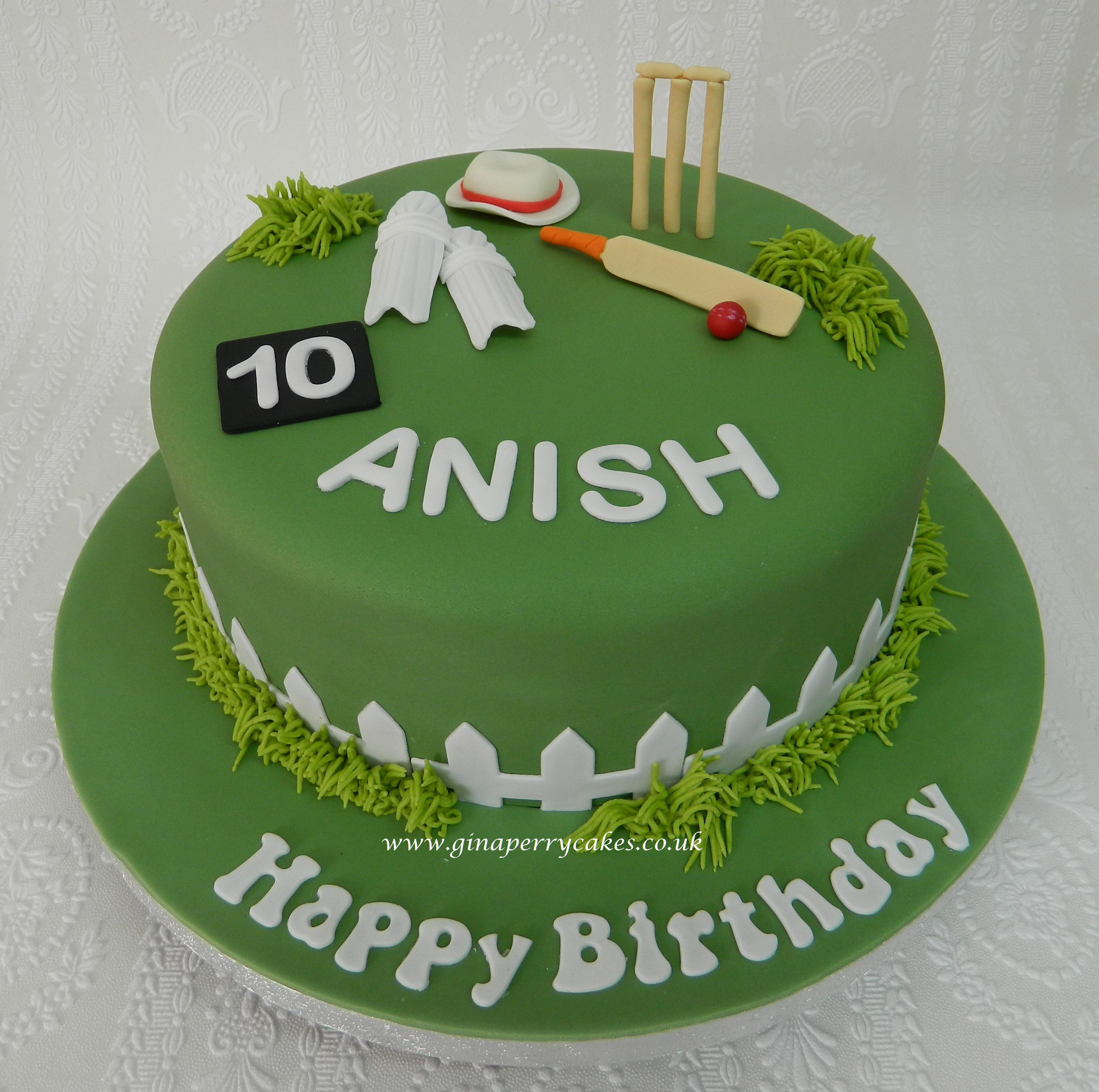 10th Birthday cake for a Cricket fan in 2020 | Cricket ...