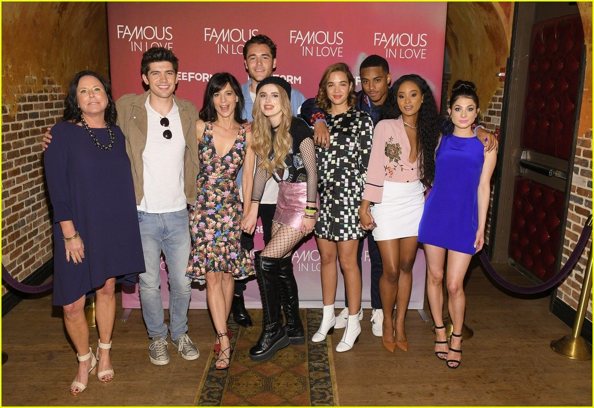 Famous In Love Cast At Screen The Series Premiere In Nyc Filmes