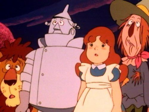 The Wonderful Wizard Of Oz Tv Series 1986 1987 Wizard Of Oz The Wonderful Wizard Of Oz Oz Tv Series