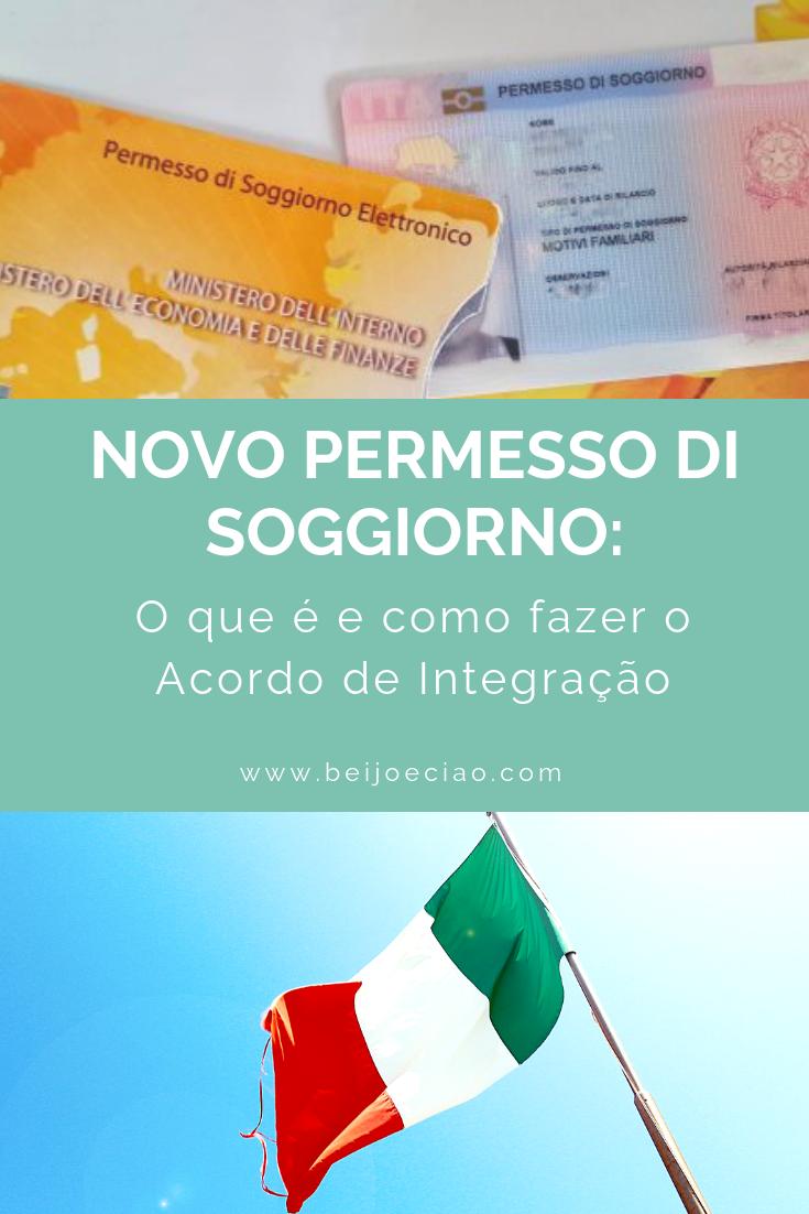 Permesso di Soggiorno: o que é o acordo de integração ...
