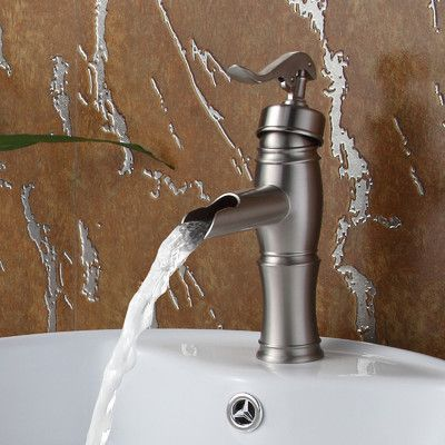Elite Vintage Single Handle Bathroom Water Pump Faucet Bathroom Sink Faucets Stone Sink Kitchen Glass Sink