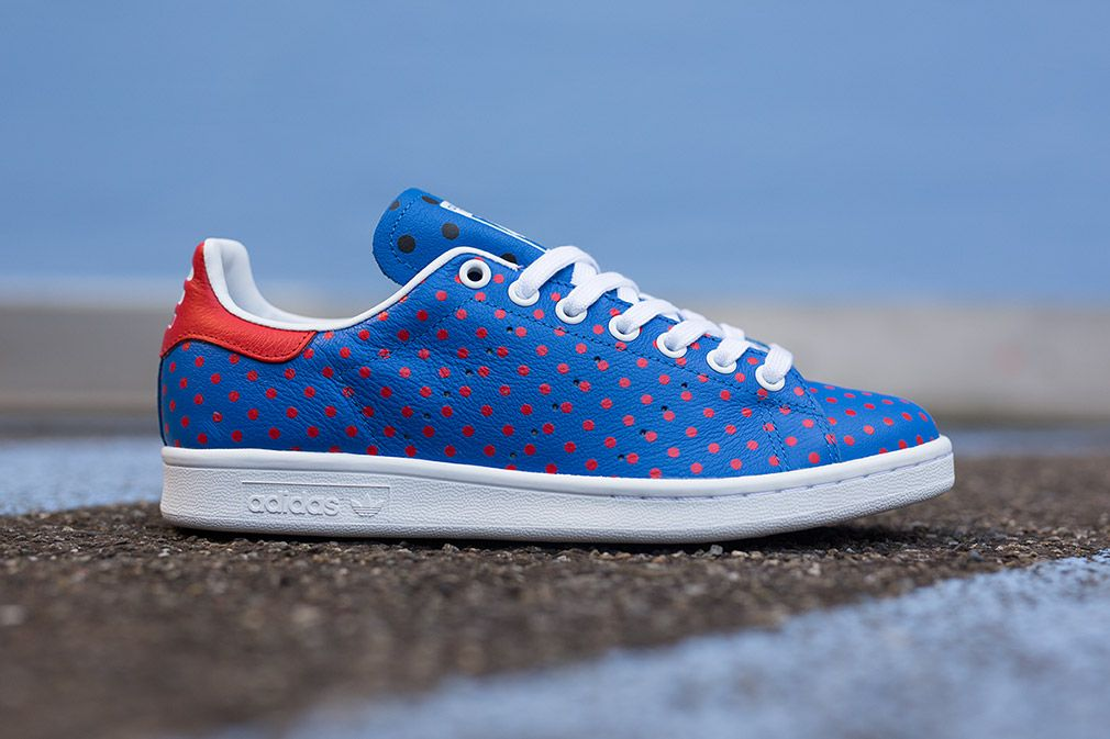 "10ee99f8 Pharrell Williams x adidas Stan Smith ""Polka Dot†Bluebird ..."