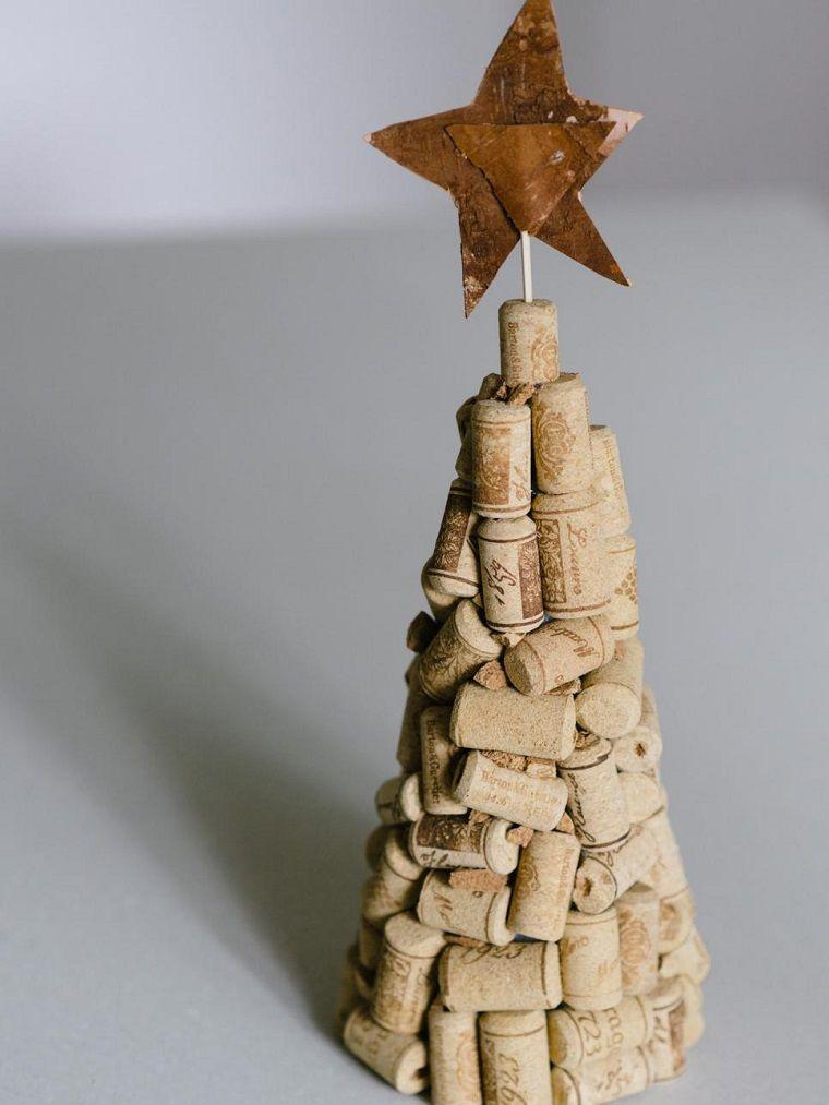 rbol de navidad muy original hecho a mano