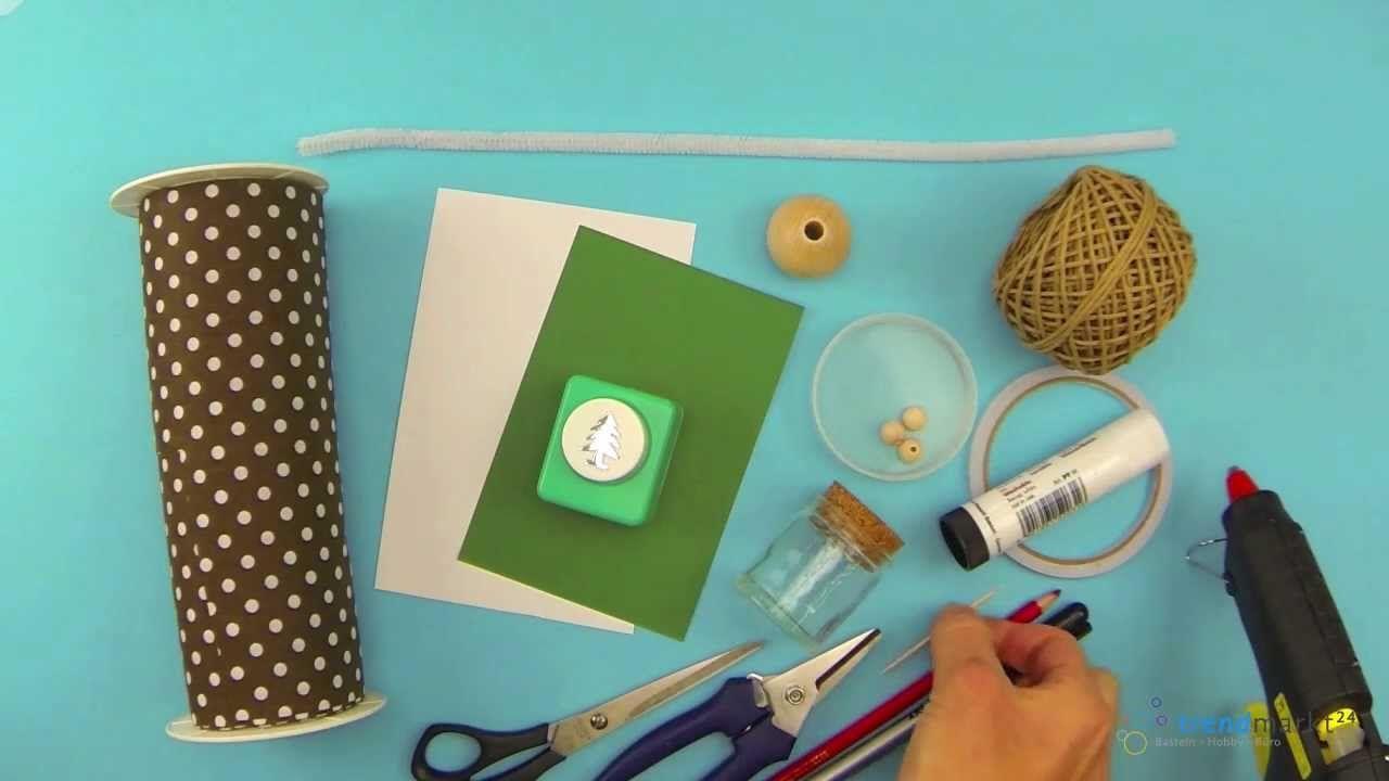 pin von trendmarkt24 bastelanleitungen crafting diy video tutorials auf basteln f r weihnachten. Black Bedroom Furniture Sets. Home Design Ideas