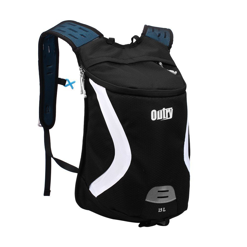 OUTRY Lightweight Backpack, 15L Daypack (BlackandWhite) >>> Review more details here : Hiking packs