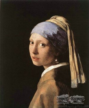 Girl With a Pearl Earring, 1665-1666, Mauritshuis, The Hague.   Vermeer