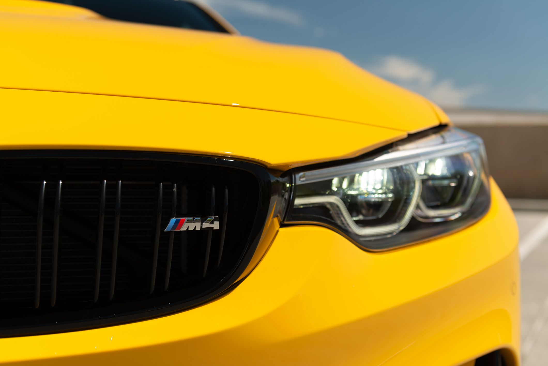 Speed Yellow BMW M4 Competition Bmw m4, Bmw, Bmw wagon