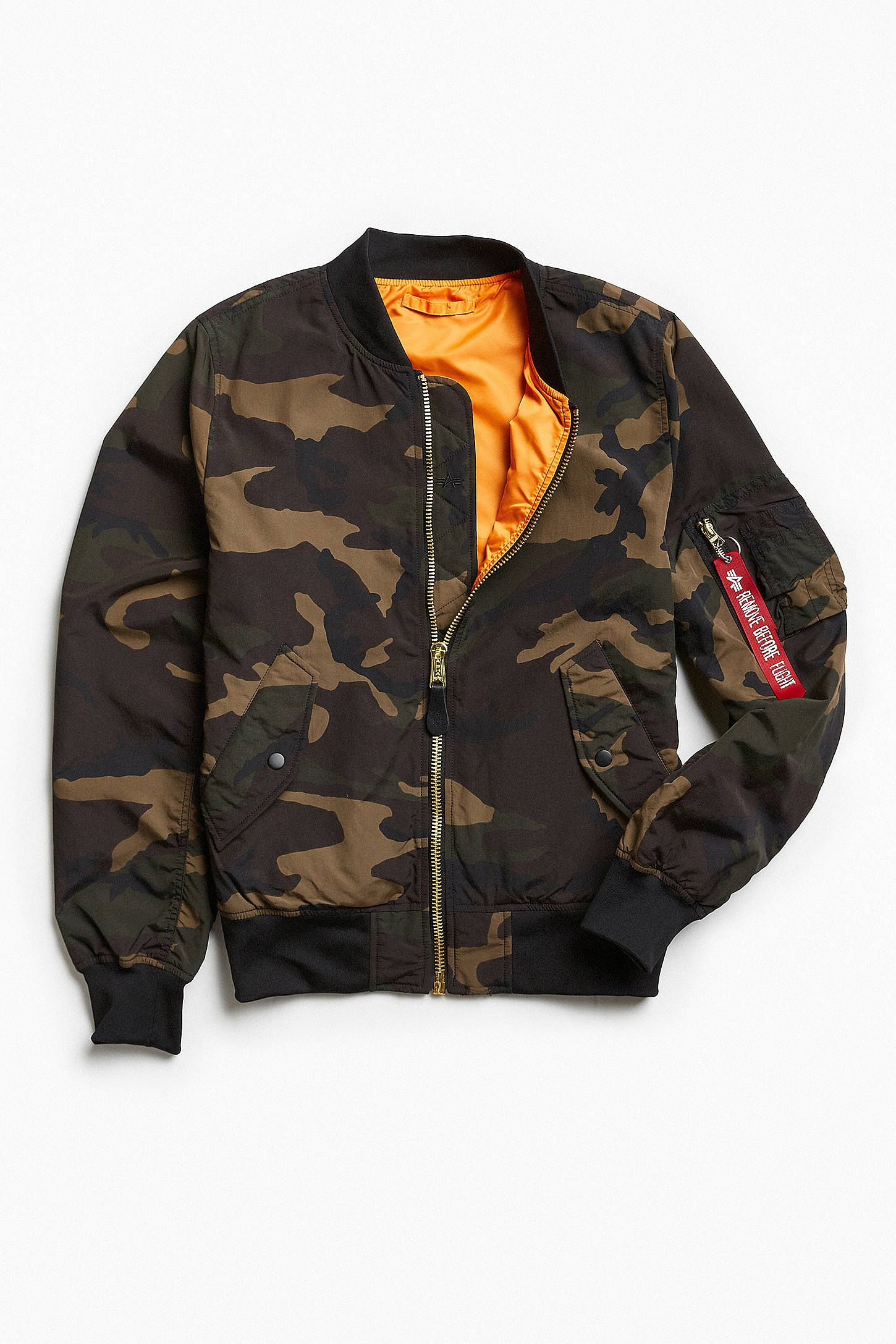 294aa619a Alpha Industries L-2B Scout Bomber Jacket | Scouts, Shops and Bomber ...
