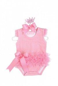 c431974f7 Mud Pie Baby Girls Ballerina Onesie Crawler Bodysuit - Pink Baby Boutique