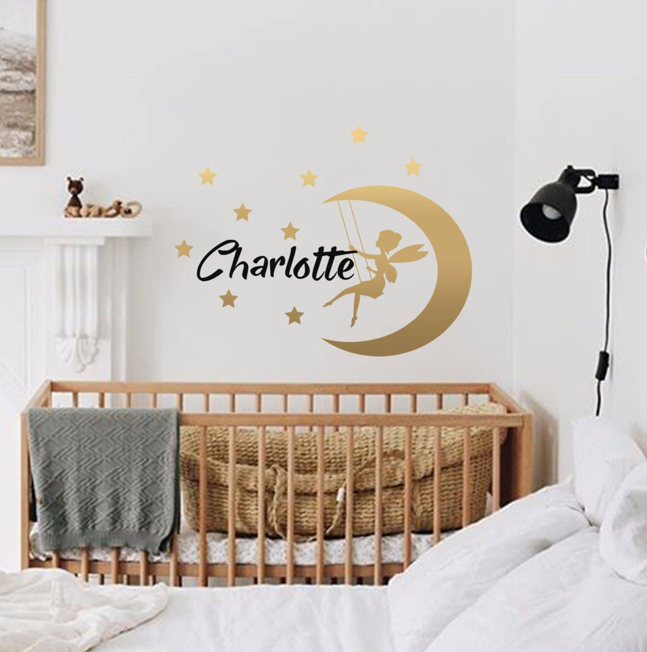 Fairy wall decals-Name Wall Decal-Baby Nursery Wall Decal-Girl Name For  sc 1 st  Pinterest & Fairy wall decals-Name Wall Decal-Baby Nursery Wall Decal-Girl Name ...