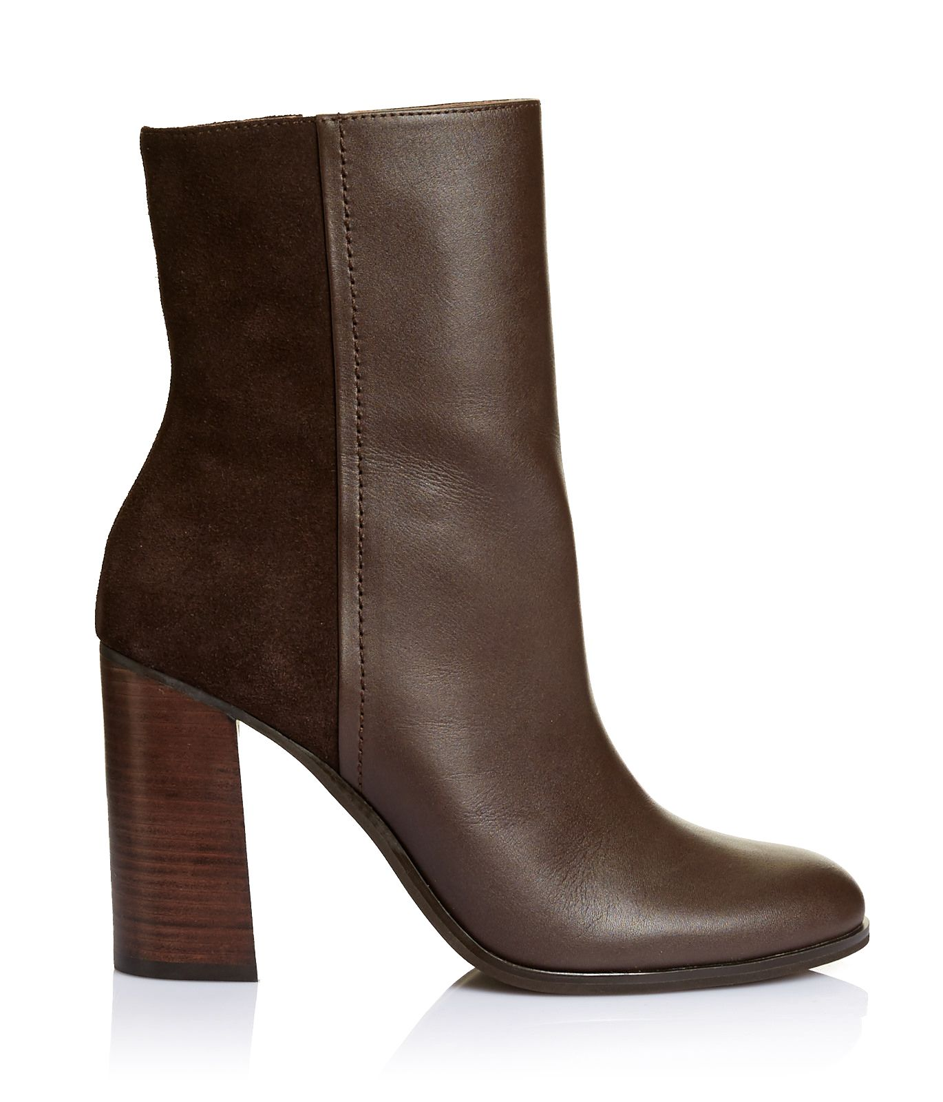 Natasha is a key boot for the season combining trends with a stacked block flare heel and high shaft to sit under cropped pants. In rich chocolate leather it is the perfect AW16 boot. Heel height 10cm. Upper: Leather Lining: Leather Outsole: Synthetic - See more at: http://www.saba.com.au/natasha-boot-9321143855908.html#start=2&cgid=accessories-womens-shoes