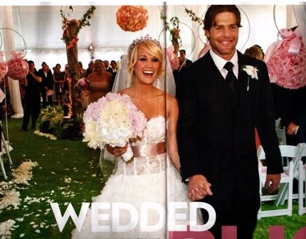 carrie underwood wedding = my wedding... i have saved EVERY ...