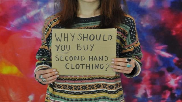 why should you buy second hand clothing? film.