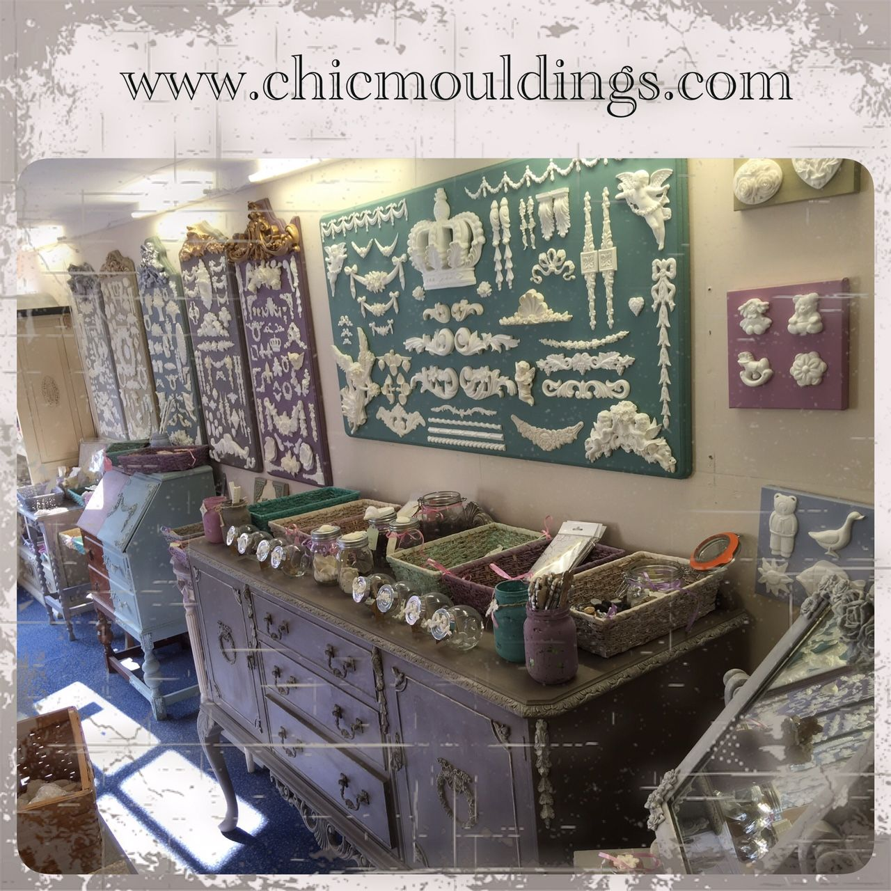 Shabby Chic Cuxhaven Possibly The Only Decorative Furniture Mouldings Showroom In The