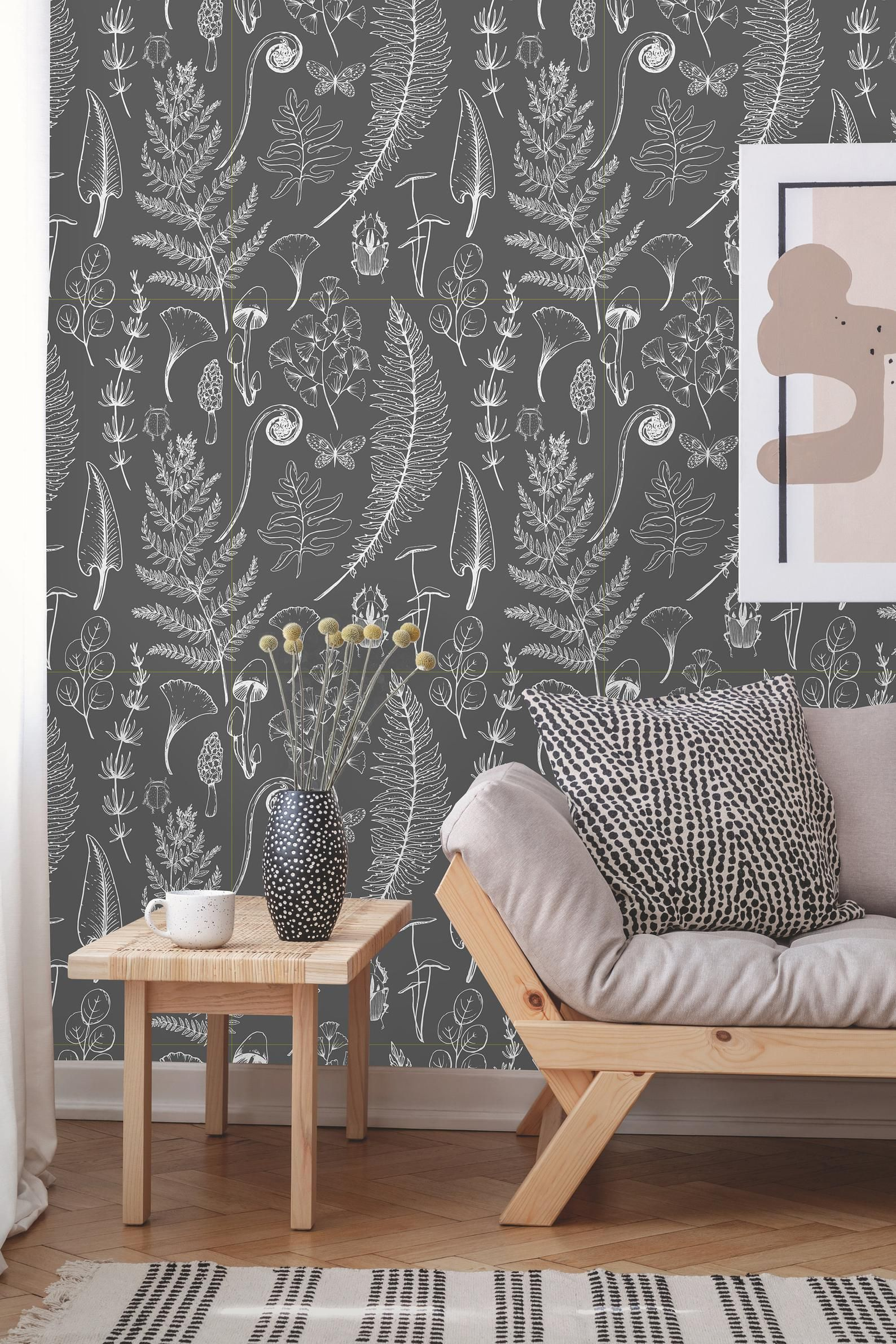 Removable Wallpaper Peel and Stick Floral Wallpaper