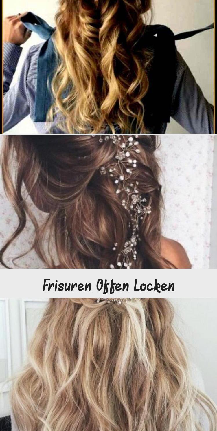 Frisuren Offen Locken Brautfrisureneinfach Frisuren Offen Frisuren Offen Locken Frisuren Offen Light Hair Curly Girl Hairstyles Hair Styles