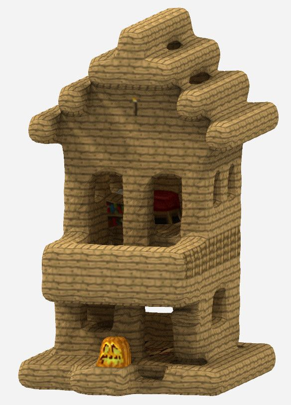 Minecraft Cutouts Blocks House